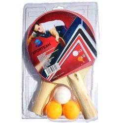 Kit 2 Raquetas De Ping Pong...