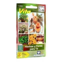 Semillas Hierbas Y Flores...
