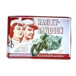 Placa Lamina Harley...