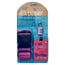 Kit De Seguridad De Viaje 3...