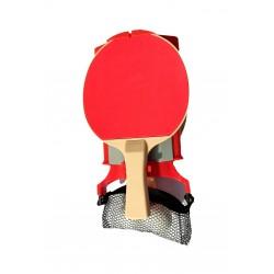 Set De Ping Pong 2 Raquetas...